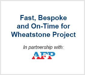 Fast, Bespoke and On-Time for Wheatstone Project