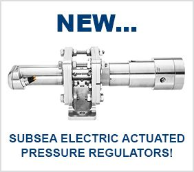 New Pressure Tech Subsea Electric Actuated Pressure Regulators