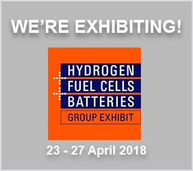 Pressure Tech are exhibiting at H2FC in Hannover on 23 April 2018