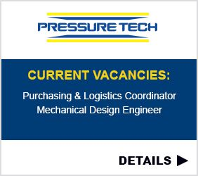 Pressure Tech Purchasing and Logistics Coordinator and Mechnical Design Engineer Vacancy