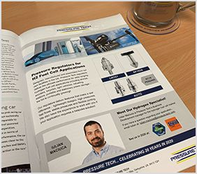 Pressure Tech Feature in H2 View Magazine December 2019