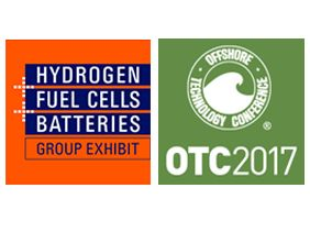 We're Exhibiting! Join Us at H2+FC and OTC 2017