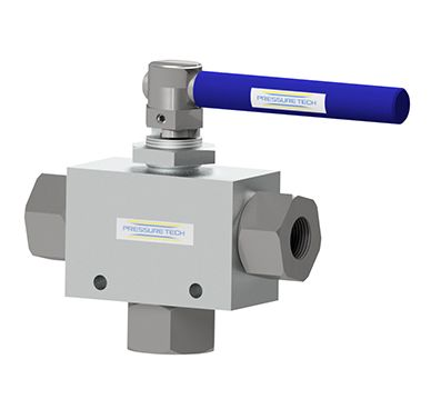 Pressure Tech TBV High Pressure Trunion Ball Valve