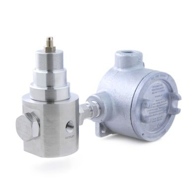 Pressure Tech XHS310 Single-Heated Diaphragm-Sensed Pressure Regulator
