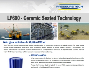 Pressure-Tech LF690 with Ceramic Seat Technology
